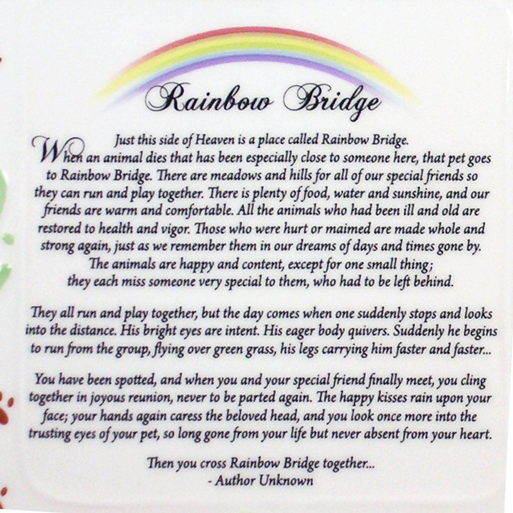 Rainbow Bridge Poem Indyhumane