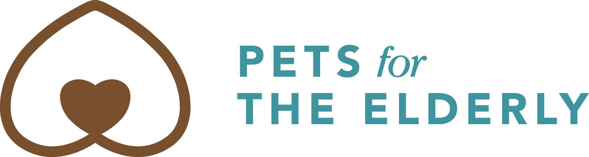 pets for the elderly logo